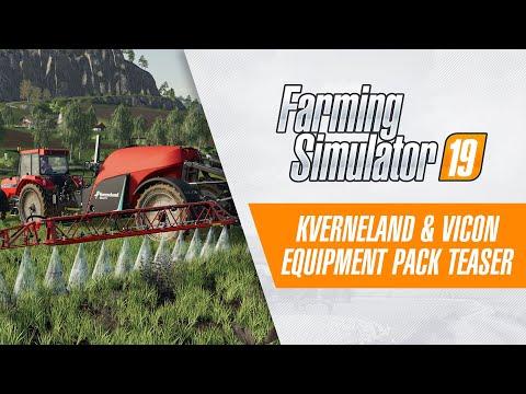 The Kverneland & Vicon Equipment Pack v1.0