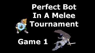 If A Perfect Bot Entered A Tournament – A Melee TAS