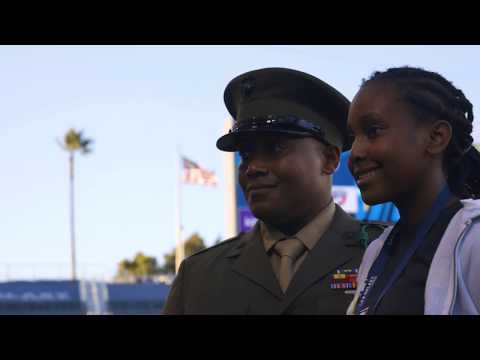 Video: LA Galaxy honor Hero of the Game on Military Appreciation Night