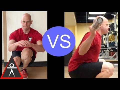 Weighted Squats vs Bodyweight Squats What You Need to Know