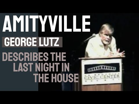 Amityville - George Lutz describes the last night in the Amityville House