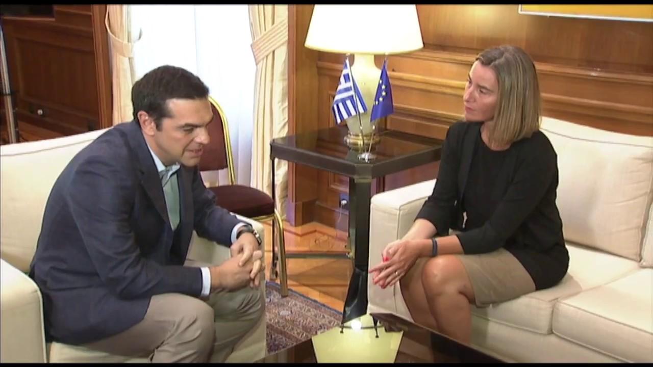 Συνάντηση με την ΥΕ/ΑΕ Φεντερίκα Μογκερίνι
