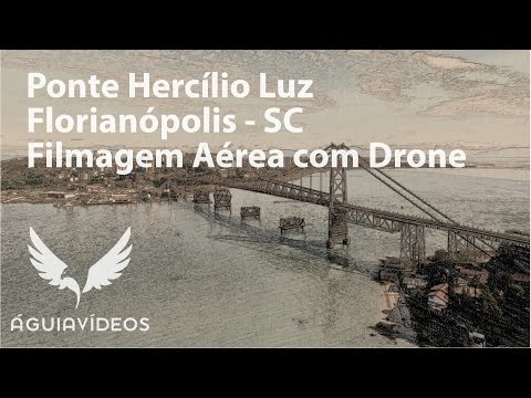 Ponte Hercílio Luz em Florianópolis, Santa Catarina
