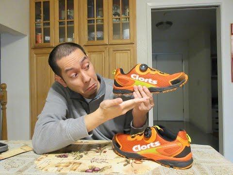 Clorts Men's BOA Technology Running Shoe 3F011A Video Review
