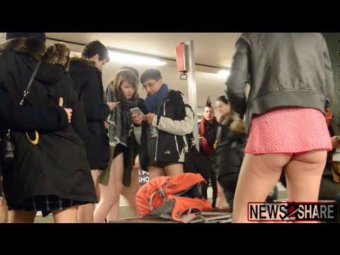 No Pants Subway Ride - Berlin 2016