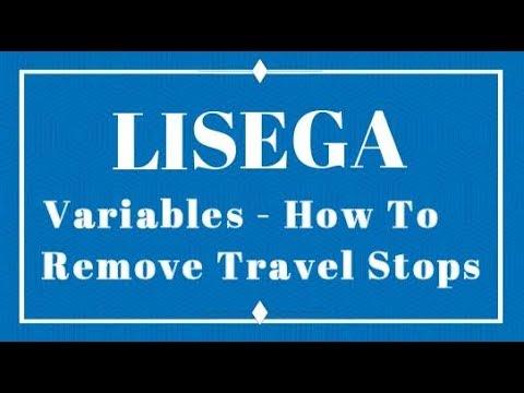 LISEGA - Removing Travel Stops on a Variable Spring