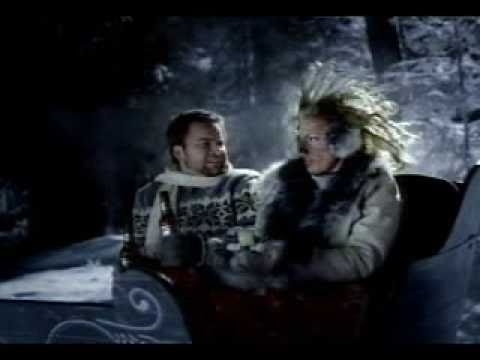 Funny Budweiser Commercial- Romantic Sleigh Ride