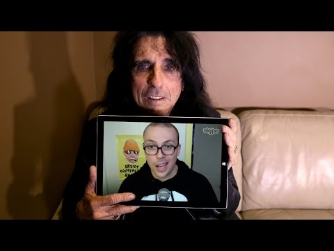On Track with the Needle Drop – Alice Cooper
