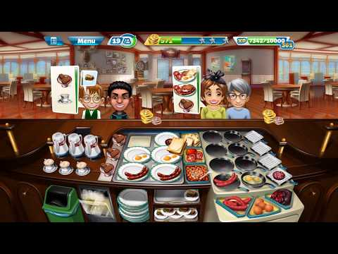 Cooking Fever: Breakfast Cafe: Level 40: 3 Stars