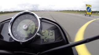 3. Suzuki B-King one mile top speed