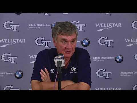 Video: Game 5: Head Coach Paul Johnson Weekly Press Conference (10-10-17)