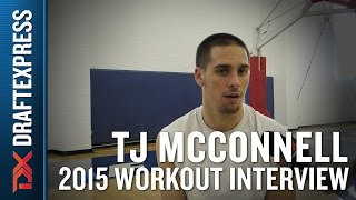 TJ McConnell 2015 NBA Draft Workout Interview