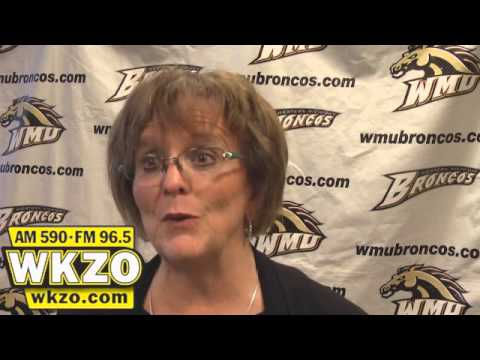 WMU Athletic Director Kathy Beauregard after PJ Fleck press conference