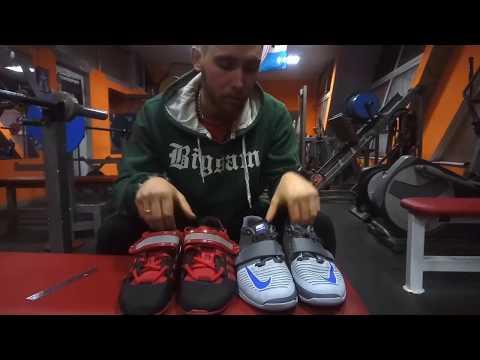 Обзор штангеток адидас adiPower Weightlifting VS Nike Romaleos 3