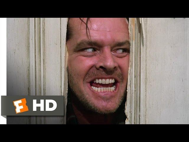 ¡Aqui esta Johnny! Here's Johnny! - El Resplandor / The Shining (1980) Escena del baño HD