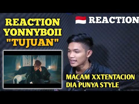 YONNYBOII - TUJUAN (OFFICIAL MUSIC VIDEO) REACTION