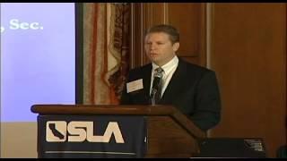 SLA Annual Meeting 2011 Ted Pierce