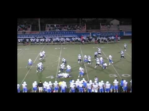 Northwood Football Highlights - NU 49, Notre Dame (OH) 14