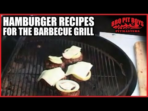 How to Make Your Basic Hamburger on the Barbeque Grill