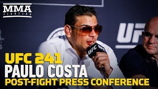 UFC 241: Paulo Costa Post-Fight Press Conference - MMA Fighting by MMA Fighting