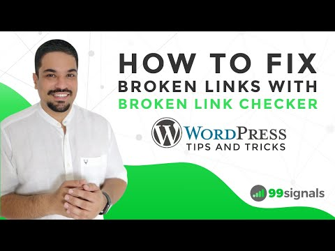Watch 'How to Fix Broken Links with Broken Link Checker (WordPress Tips & Tricks) - YouTube'