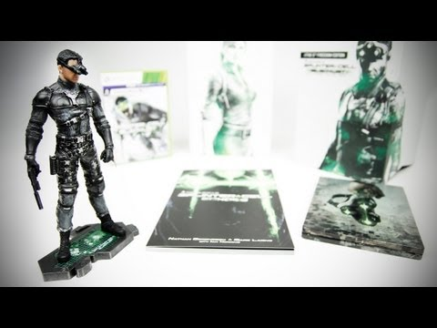 Splinter Cell: Blacklist The 5th Freedom Edition Unboxing | Unboxholics