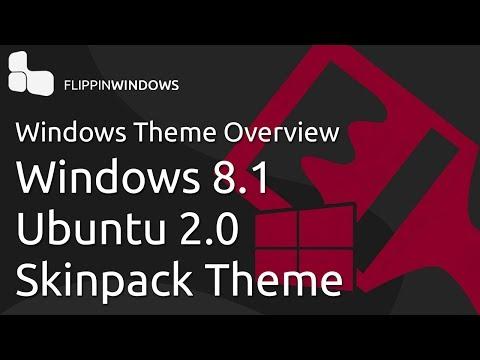 Windows 8.1 Theme | Ubuntu 2.0 Skinpack