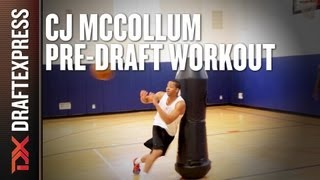 C.J. McCollum - 2013 NBA Pre-Draft Workout & Interview