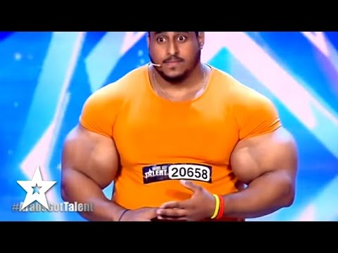 Video Real Life HULK Sings & Arms Wrestles JUDGE! Got Talent Global download in MP3, 3GP, MP4, WEBM, AVI, FLV January 2017