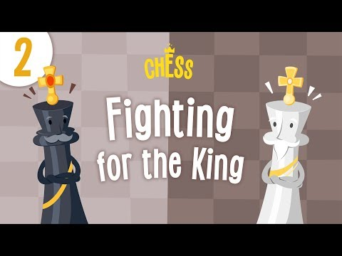 Chess for Kids Cartoon - Episode 2: Fighting for the King | Kids Academy