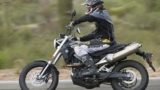 1. 2007 BMW G650 Xcountry First Ride - MotoUSA
