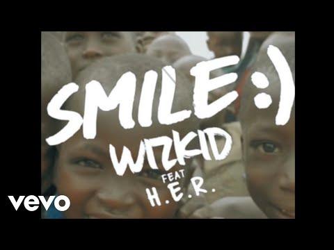 WizKid - Smile (Vertical Lyric Video) ft. H.E.R.