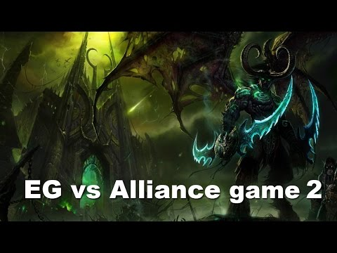 ESL New York - EG vs Alliance Epic Game 2