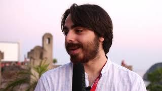 Edoardo Sandulli con Asciola all'Ischia Film Festival 2018