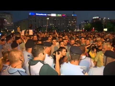 Διαδηλώσεις κατά της διαφθοράς στη Ρουμανία