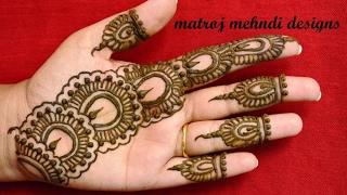Mehndi Ceremony Mp : Mehndi designs videos download elegant finger