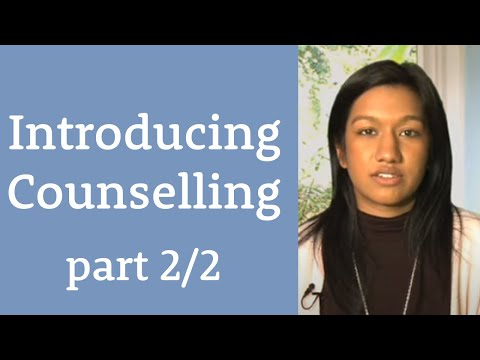 Introducing Counselling Part 2