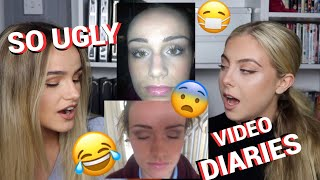 WE FOUND 2012 VLOGS😂 | REACTING TO OLD PICTURES & VIDEOS PART 2 | SYD AND ELL