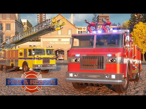 Video William Watermore the Fire Truck - Real City Heroes (RCH) | Videos For Children download in MP3, 3GP, MP4, WEBM, AVI, FLV January 2017