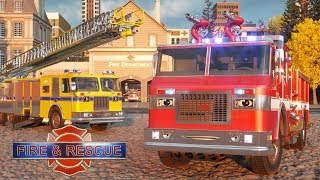 Video William Watermore the Fire Truck - Real City Heroes (RCH) | Videos For Children MP3, 3GP, MP4, WEBM, AVI, FLV Januari 2018