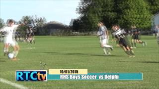Rochester High School Boys Soccer vs Delphi