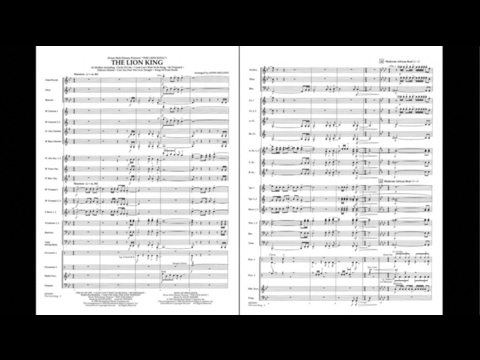 The Lion King arranged by John Higgins