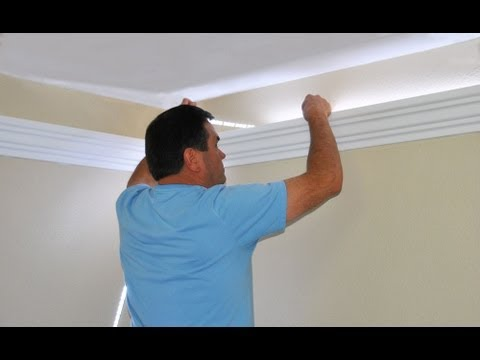 lighting - See how to install indirect lighting in crown molding Visit our website http://www.creativecrown.com Retailers/Distributors are needed! We are the first to m...