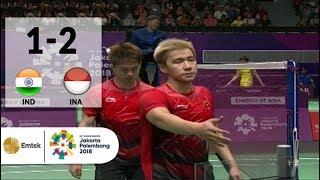 Video IDN vs INA - Badminton Beregu Putra: Full Highlights - Ganda Putra | Asian Games 2018 MP3, 3GP, MP4, WEBM, AVI, FLV Agustus 2018