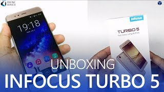 Unboxing and hands-on overview of the new InFocus Turbo 5 with 5000 mAh Battery, 5.2-inch HD display priced at Rs. 6999. The InFocus Turbo 5 is a budget Android Nougat smartphone packing 2GB RAM, 16GB Storage and 13MP/5MP Cameras.You can find out more about it here:http://www.phonebunch.com/phone/infocus-turbo-5-2970/Buy Infocus Turbo 5 (Amazon): http://amzn.to/2tI1WE2Subscribe on YouTube, to get videos first:http://www.youtube.com/subscription_center?add_user=PhoneBunchFollow PhoneBunch:http://www.phonebunch.comhttp://www.facebook.com/phonebunchhttp://www.twitter.com/phonebunchFollow Abhinav Pathak (Editor):https://www.facebook.com/Abhi.IKnowIThttp://www.twitter.com/exolete