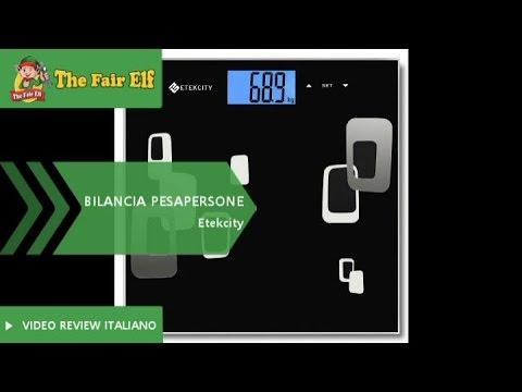 Bilancia pesapersone EtekCity   Non pesa solamente