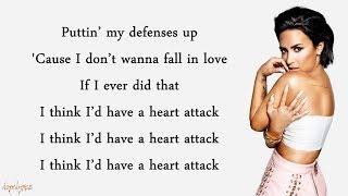 Video Heart Attack - Demi Lovato (Lyrics) MP3, 3GP, MP4, WEBM, AVI, FLV Juni 2018