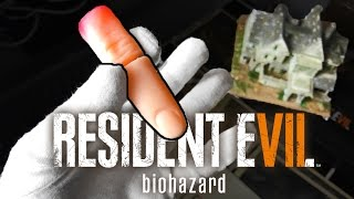 Unboxing Resident Evil 7 Collector's Edition House, Finger, Artbook & Steelbook