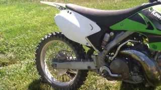9. 2004 KX250 Walkaround