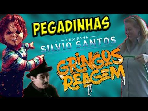 PEGADINHAS SILVIO SANTOS - CARONA PRO INFERNO, COLCHÃO D'ÁGUA E CHUCKY